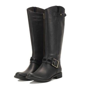 Timberland Black Knee Boots size 6
